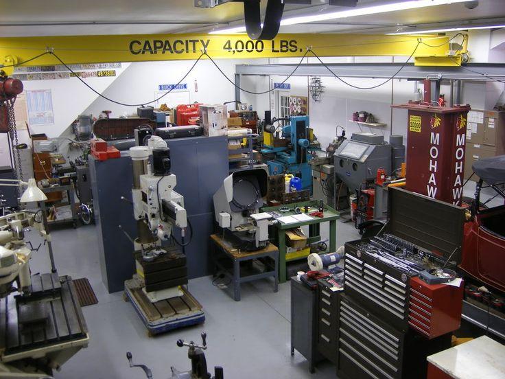 113 best dream shop images on pinterest workshop garage for Garages and shops