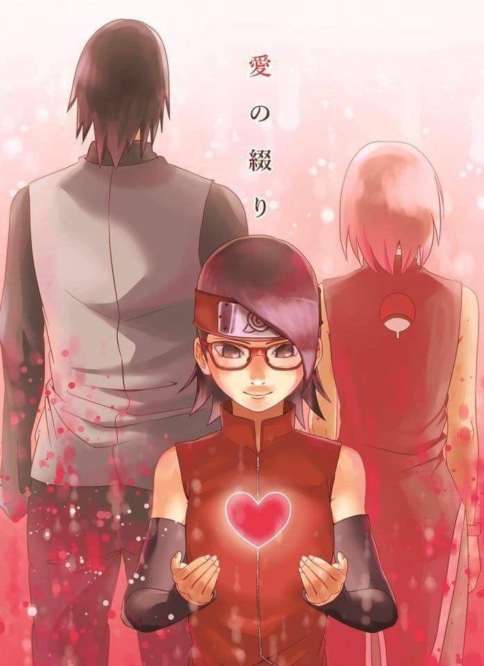 Sarada Uchiha - Naruto Gaiden is coming soon on Boruto series ❤️❤️❤️ Uchiha Family: Sasuke, Sakura, Sarada