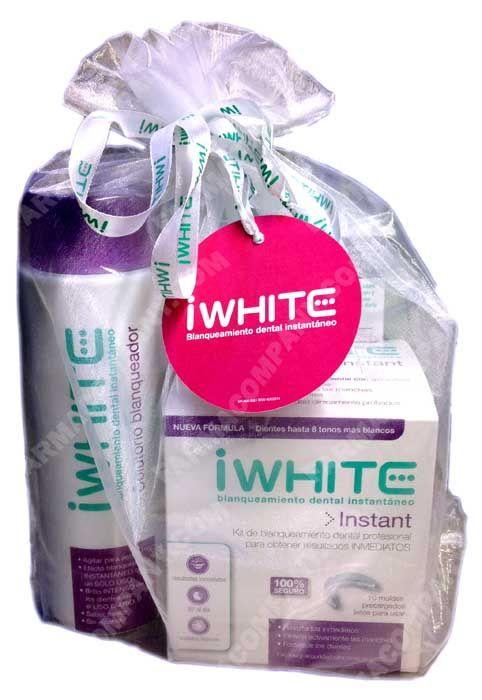 Iwhite pack kit blanqueamiento dental+pasta dental+ colutorio en Farmacompany.es 27.90 euros el kit completo