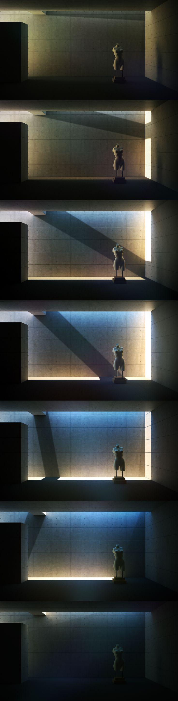 Indoor Statue Animation