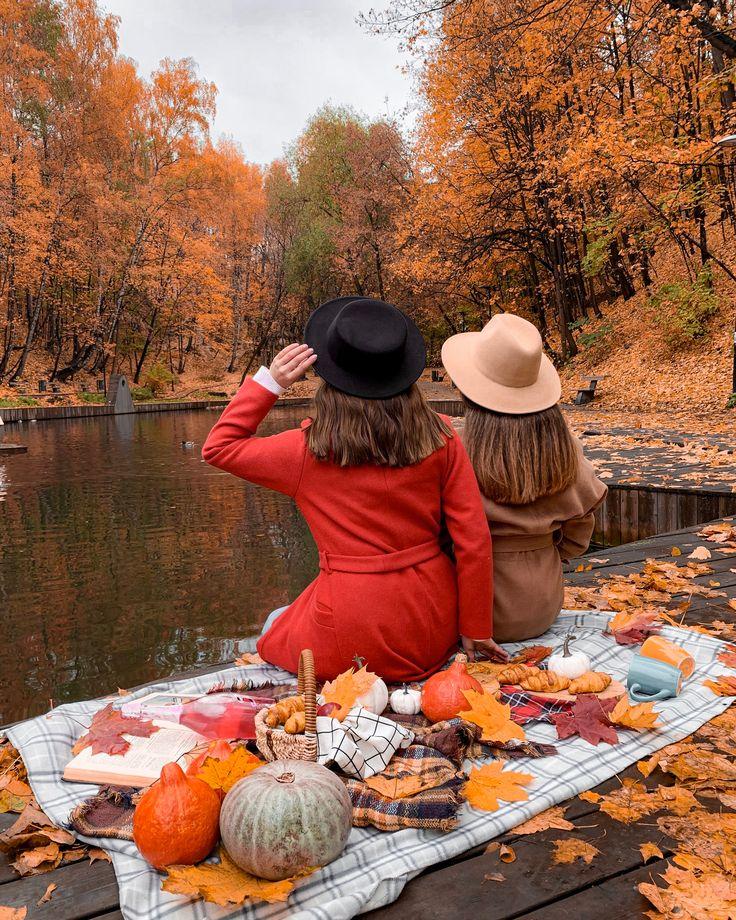 осенние фотосессии в стиле пикник странах дальнего востока