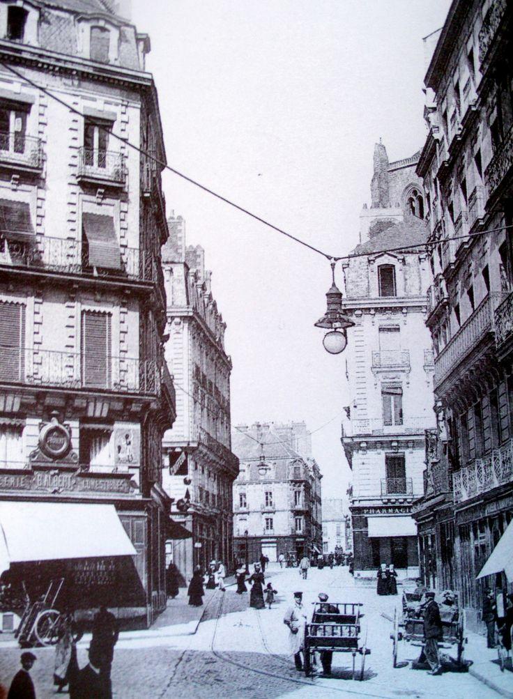 NantesHaute Grande Rue actuelle rue de Verdun qui va de