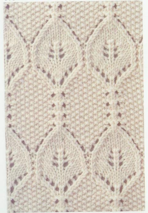 Lace Knitting Stitch #68 | Lace Knitting Stitches