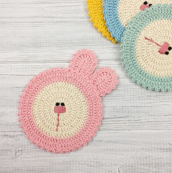 Mouse Rug With Matching Coaster And Bookmark