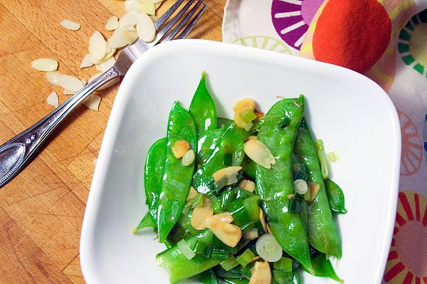 how to clean snow peas