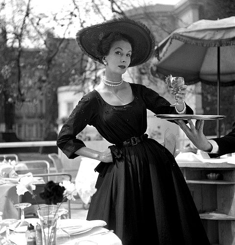 top model des années 50 : bettina - contessina