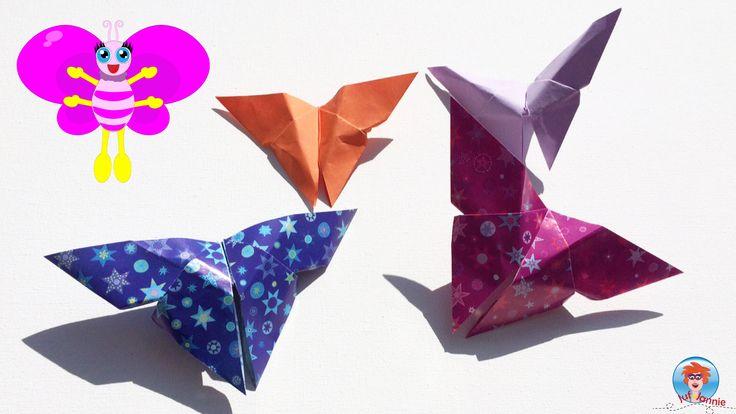 Ik laat je in een filmpje zien hoe je leuke vlinders kan vouwen van papier. Leuke origami werkjes voor kinderen. Deel dit:FacebookTwitterLinkedInPinterestMorePrintTumblrEmailGoogle