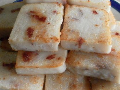 White Radish Cake Recipes - Hong Kong Style Dim Sum and Singapore Hawker Style