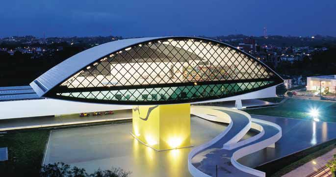 Museu Oscar Niemeyer, Curitiba, Brazil