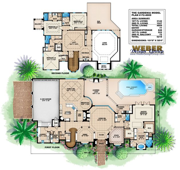 107 best Mediterranean House Plans images on Pinterest | Home ...