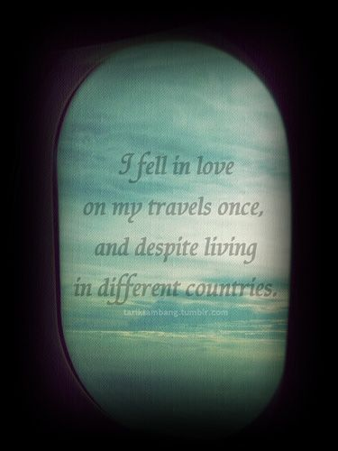 Love of travel