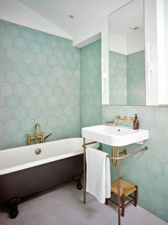 24++ Faience salle de bain vert ideas in 2021