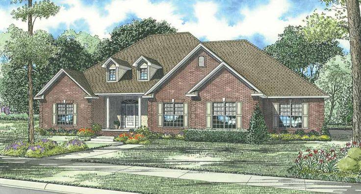 house plan 1129 braxton drive | nelson design group | house plans