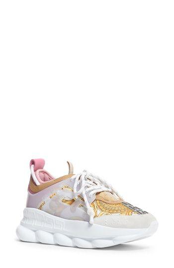 d372417e610 New Versace First Line Chain Reaction Platform Sneaker (Women) women shoes.    995  topoffergoods offers on top store