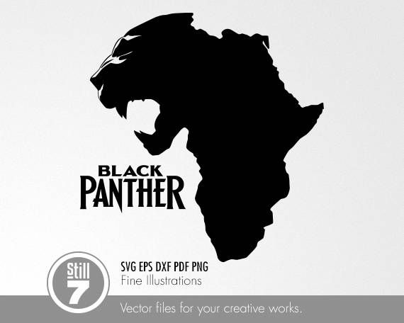 Black Panther Africa Svg Eps Dxf Pdf Png In 2021 Black Panther Tattoo Black Panther Art Black Panther