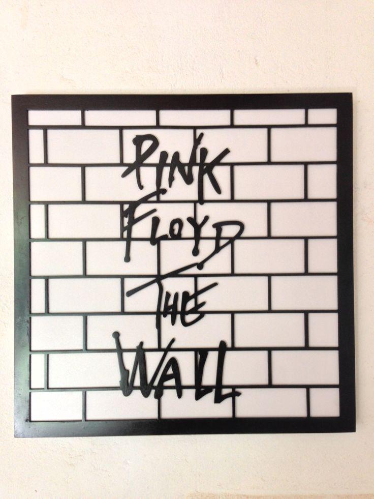 Pink Floyd - The Wall MDF, laser cut