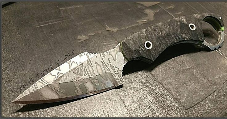* (@brute_force_blades) Secondary defense weapon, The Brute Force Blades Savage-2. 7.5 inches long,
