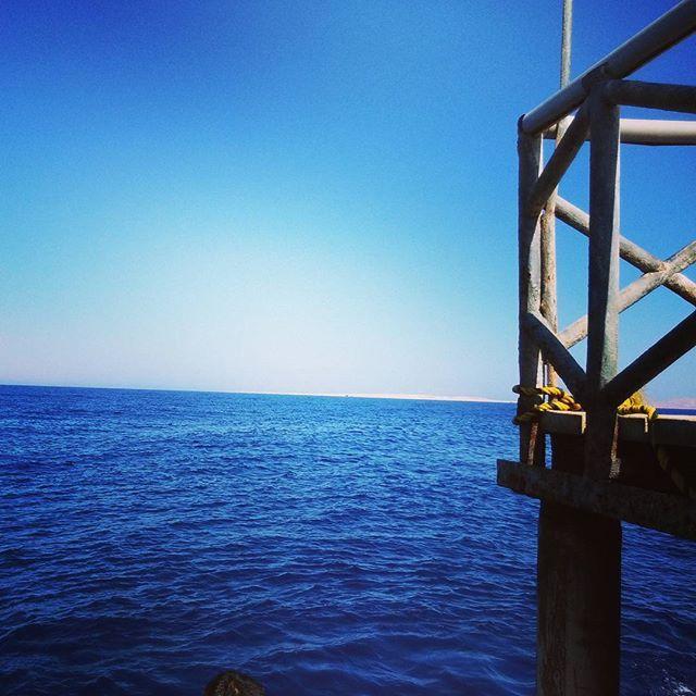 Perspective sea.