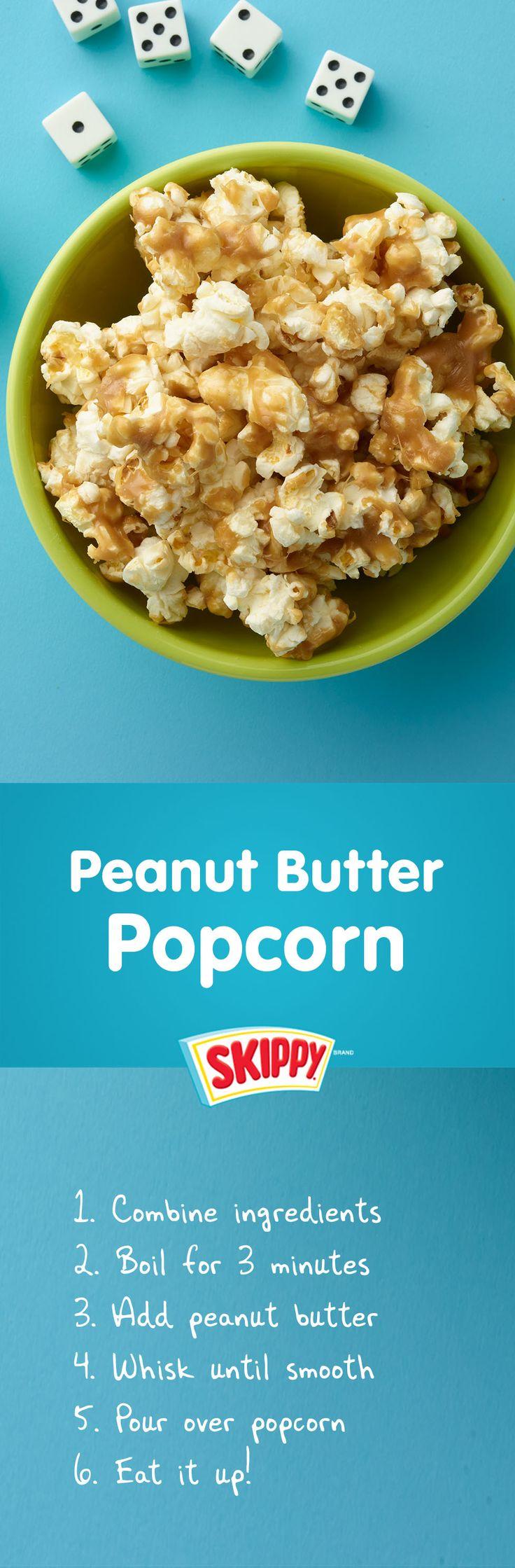 Keep The Good Snacks Popping! Popcorn   Snacks   Peanut Butter   SKIPPY® Brand   Movie Snacks  