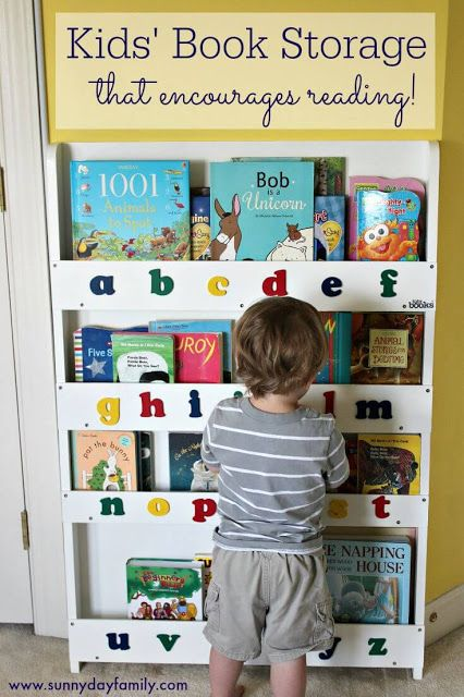 Toddler Bookshelf Small Spaces