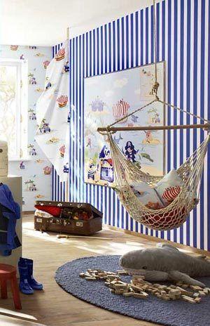 Детская комната в морском стиле - Ярмарка Мастеров - ручная работа, handmade