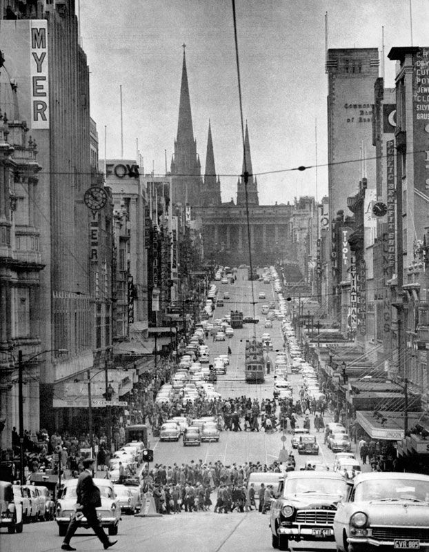 Vintage Melbourne in Black & White - Page 3 - SkyscraperCity