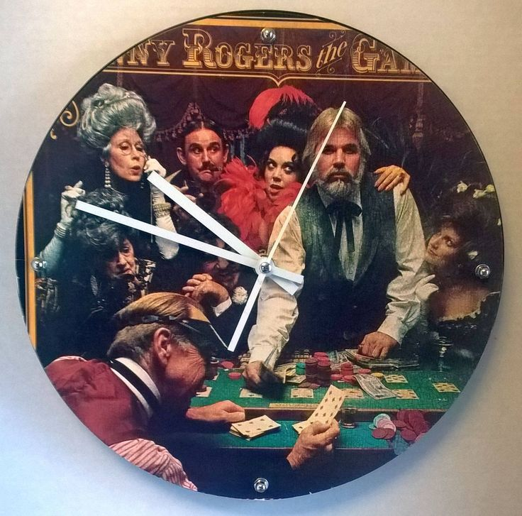 Kenny Rogers The Gambler Album Country Clock by ...