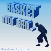 Animasi DP BBM Basketball,gambar gerak atau Dp BBM Bola Basket Terbaru