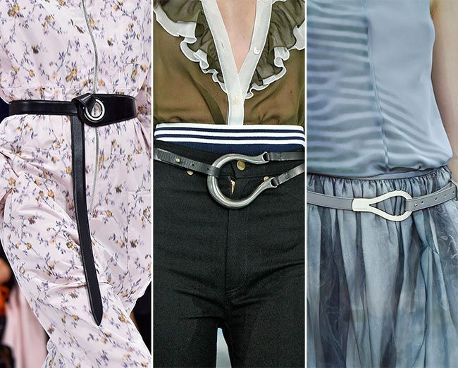 Accessory Trends 2015 | Spring/ Summer 2015 Accessory Trend #2: Tiny Itty-Bitty Belts