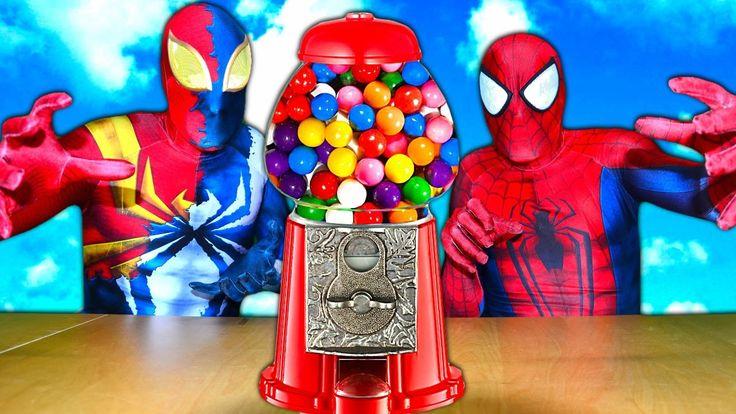 GUMBALL Spiderman ART CHALLENGE! w/ IRON SPIDER Frozen