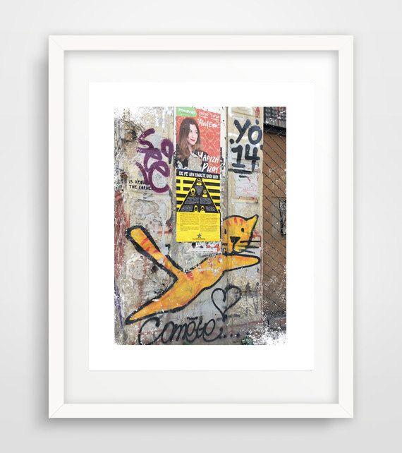 Cat graffiti Graffiti poster graffiti photo graffiti by Ikonolexi