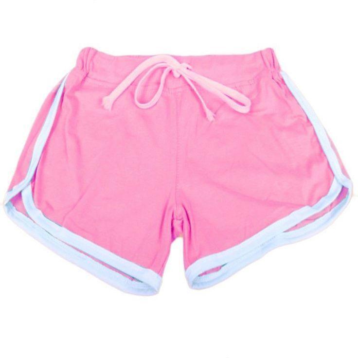 2016 Women Summer Beach Two Style Hot Shorts Plus Size Casual Cotton Short Femininos Ladies Workout Shorts