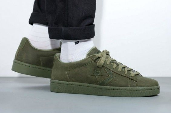 http://SneakersCartel.com An On-Feet Look At The Converse Pro Leather 76 Ox Autumn Mono Pack #sneakers #shoes #kicks #jordan #lebron #nba #nike #adidas #reebok #airjordan #sneakerhead #fashion #sneakerscartel