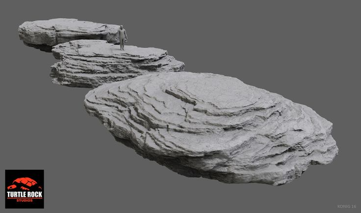This is a sampling of the many hi-res rocks I sculpted as a remote contractor for Turtle Rock Studios from 2013 to 2015. Though some of them had specialty uses, like stairs or bridges, many of the assets needed to mix and match and work from multiple angles in order to get the most from each model. It was a great 2.5 year run at TRS, lots of great people there!