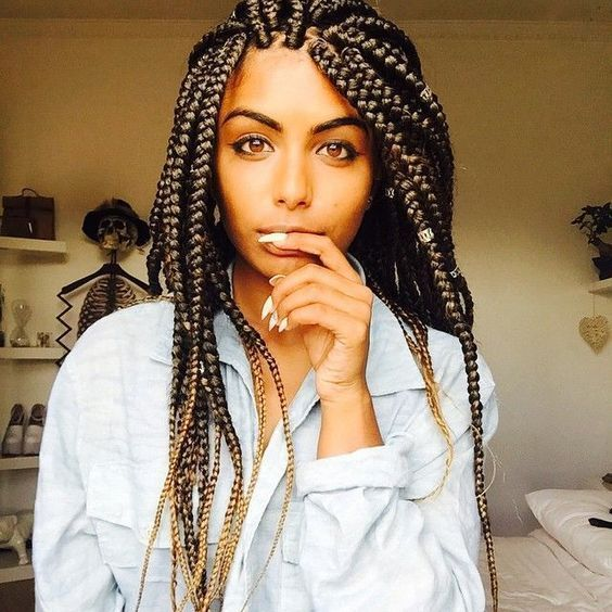 Box braids hairstyles are one of the most popular African American protective styling choices. Summer lifts the percentage significantly with activities.: