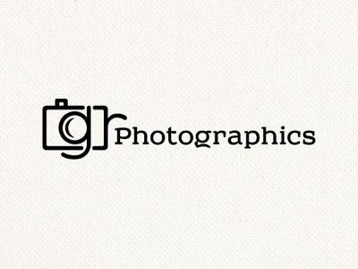 A photography logo by Nick Mac Design.