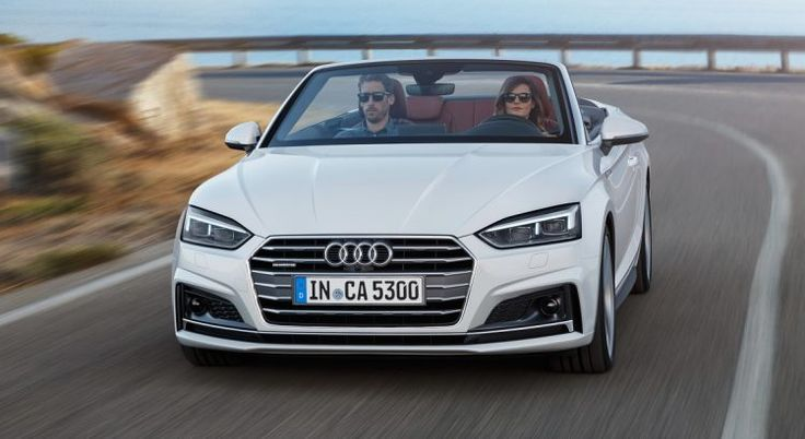 Audi A5 Cabriolet 2017: Official information revealed [SHOW LOS ANGELES]