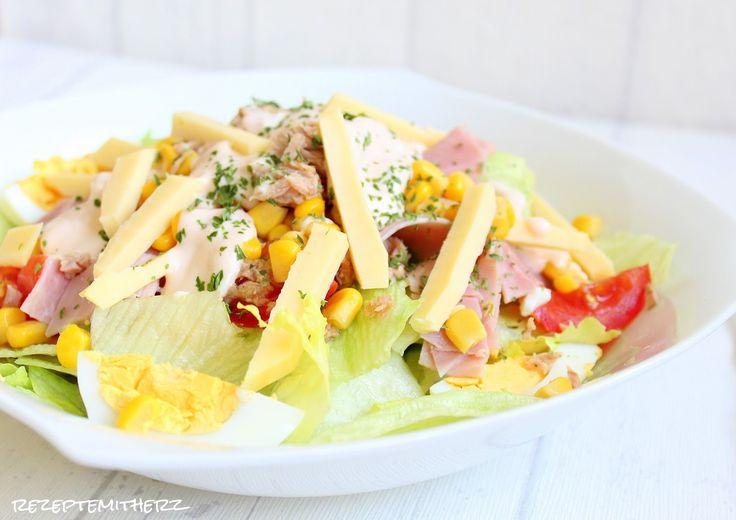 Rezepte mit Herz ♥: Capricciosa Salat