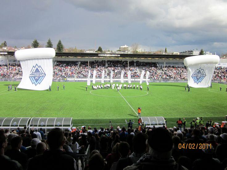 Empire Stadium - 1st MLS season