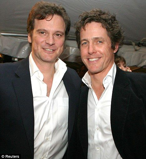 Firth AND Grant: the dynamic British duo; never forget the fight in Bridget Jones Diary!!! friends