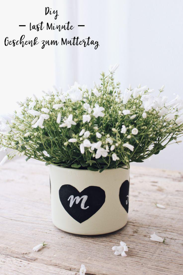 DIY Geschenk Zum Muttertag   Einfache Idee Für Den Besonderen Tag
