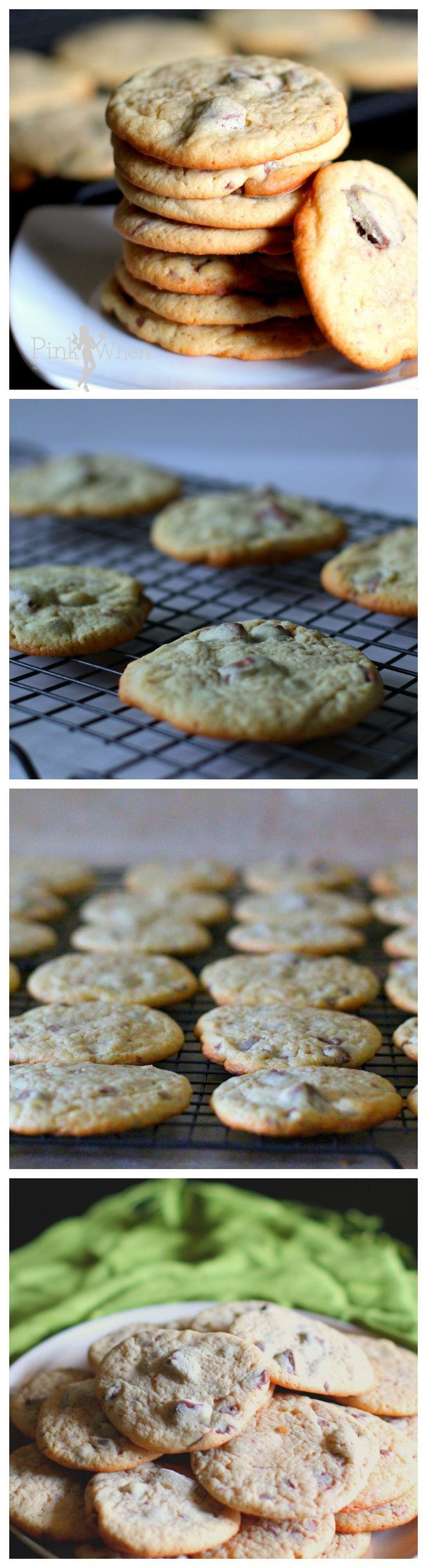 This recipe takes a delicious homemade chocolate chip cookie recipe over the top when adding in wild huckleberry milk chocolate!