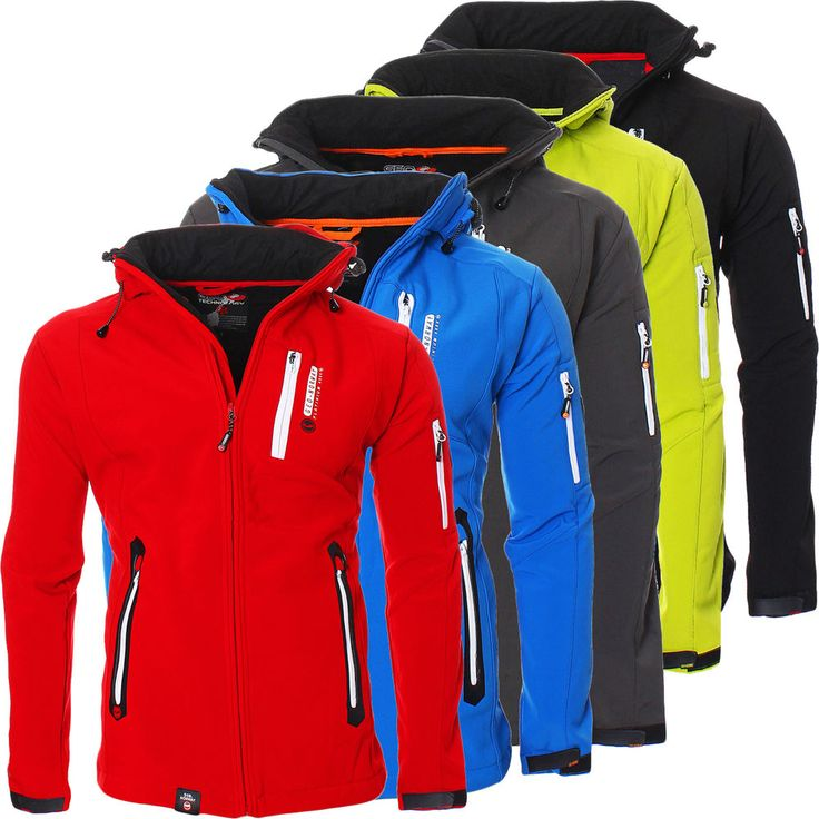 Geographical Norway Trimaran Softshell Outdoor Jacke Übergangsjacke