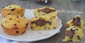 Cookie muffin alla nutella