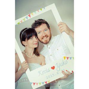 フォトプロップスカラフルボード写真の小道具写真撮影を楽しむアイテムPR-14【結婚式・誕生日・二次会・パーティー・ウェルカムボード・オリジナル対応します】
