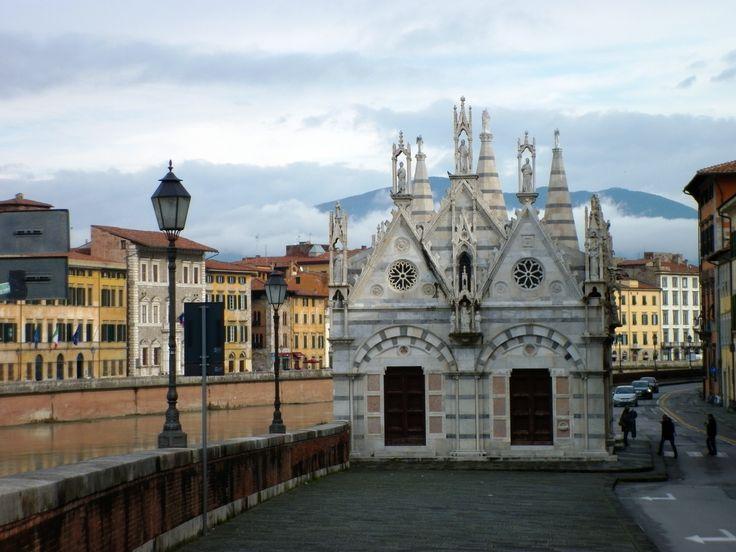 Iglesia de Santa María della Spina, Pisa