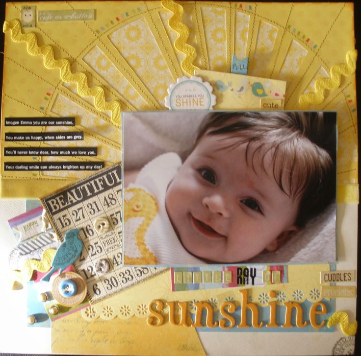 project published in scrapbooking memories 2013