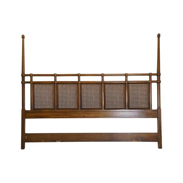 Best Image Of Mid Century Modern Cane Headboard King Size 400 x 300