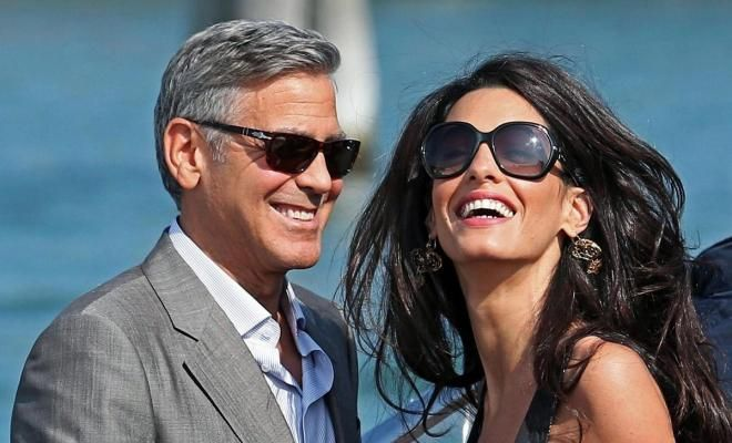 Internationally acclaimed barrister Amal Alamuddin marries an actor