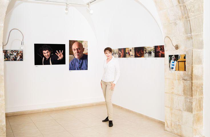 """Exhibition """"Kibbutz Galuyot""""; Jerusalem House of Quality; Skizza  Curator: Marina Genkina; Marina Shelest #KaśkaSikora #Wystawy #Izrael #Jerozolima #Skizza #KatarzynaSikora #Sikora #Fotografia #Portrety #artyści #wystawafotografii #photographyexhibition  #fotografiaportretowa"""